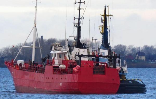 В Баренцевом море затонуло судно