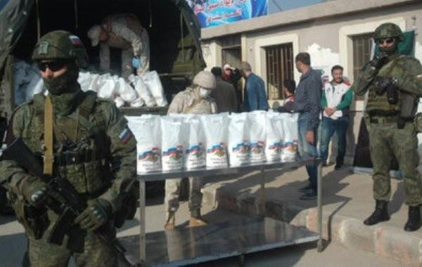 В сирийский город Эль-Камышлы введена российская военная полиция