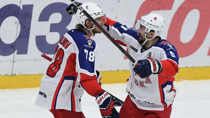 Полное расписание матчей и трансляций сборной России на ЧМ по хоккею 2021 года