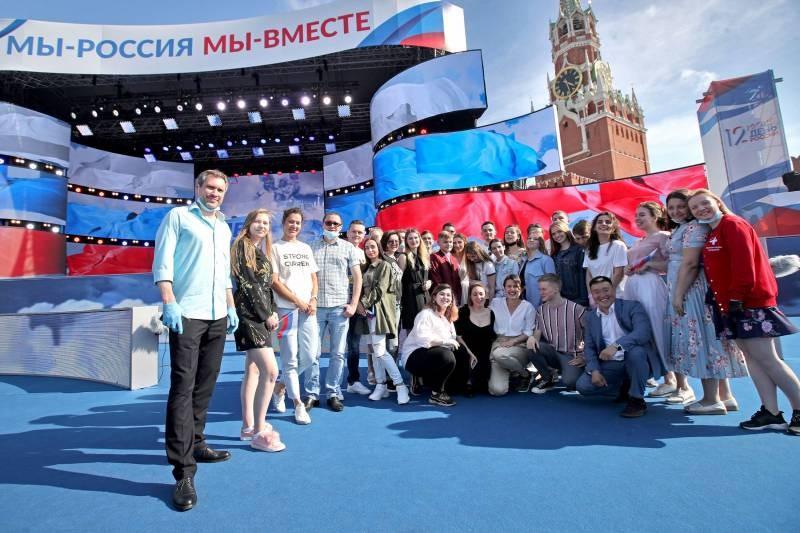 Во сколько 12 июня 2021 года состоится концерт на Красной площади