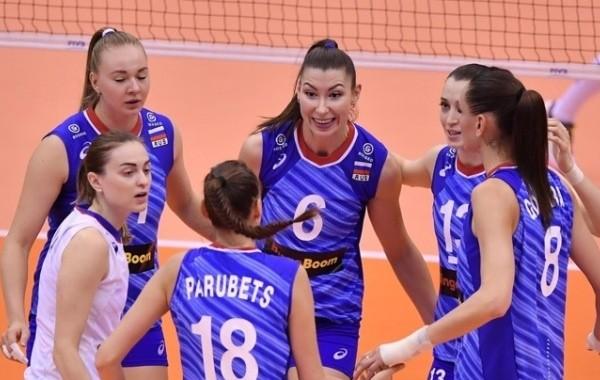 Российские волейболистки вышли в плей-офф Олимпиады в Токио, обыграв команду США