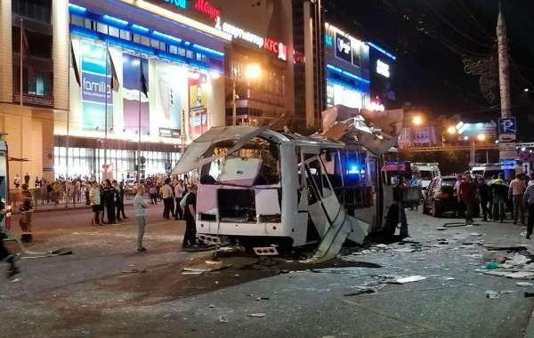 В ФСБ назвали причину взрыва автобуса в Воронеже