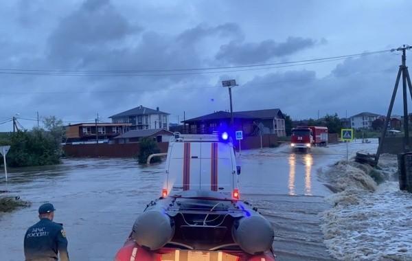 Анапу, Геленджик, Крымск и Новороссийск затопило ливнями