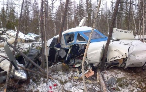 Под Иркутском погибли четыре человека в результате крушения самолета