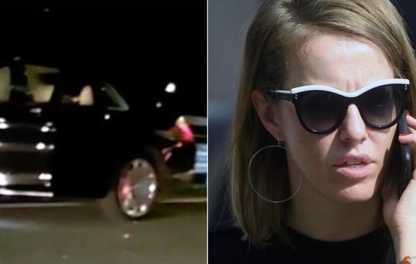 Ксения Собчак пострадала после ДТП в Сочи